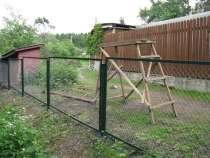 Секции заборные из сетки рабицы, в Владимире