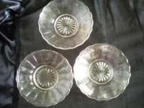 тарелки и рюмки стекло начало 20 века, в Тамбове