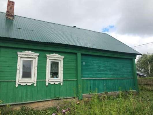 Продается хороший, крепкий деревянный дом для круглогодичного проживания в живописной деревне Бражниково,Можайский райо,130 км от МКАД по Минскому шоссе. Фото 1