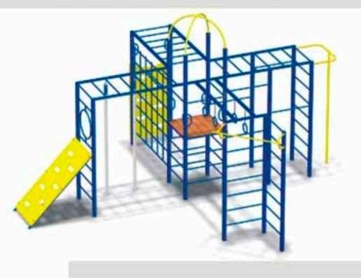 Детские спортивные площадки, комплексы от производителя