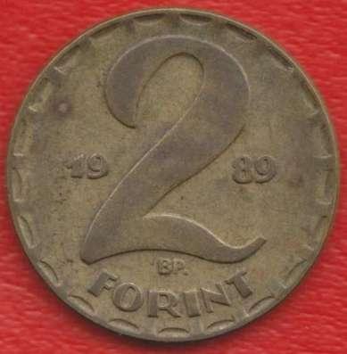 Венгрия 2 форинта 1989 г
