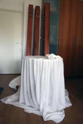 Свадебная арка и столик для росписи