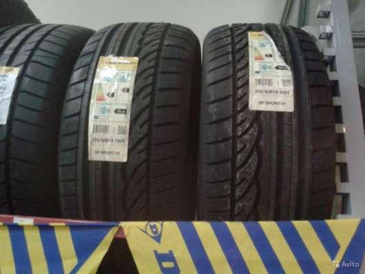 Новые немецкие Dunlop 255 40ZR19 Sport01