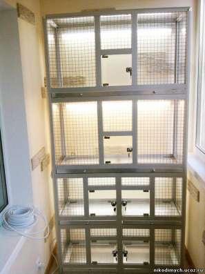 Клетки - вольеры для птиц в Москве Фото 2