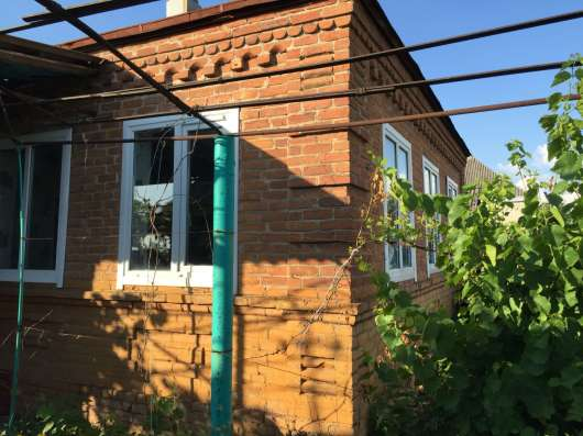 В ст. Темижбекской дом 72 кв. м. на участке 18 соток