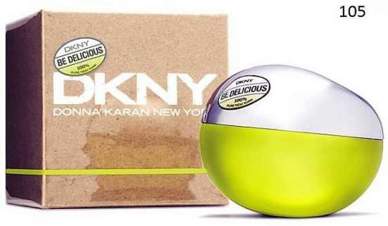"Французские духи ""Dkny Be Delicious"""