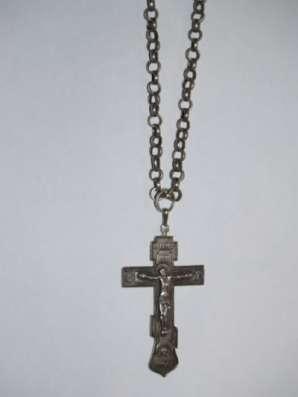 Крест иерейский наперсный, нач. ХХ века в Санкт-Петербурге Фото 3