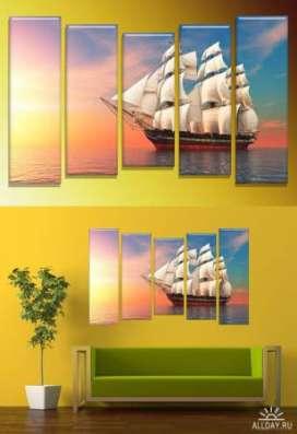 Модульные картины на стекле.