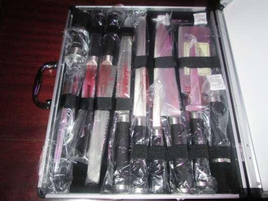 Комплект ножей, лучшая немецкая сталь, в подарочной упаковке