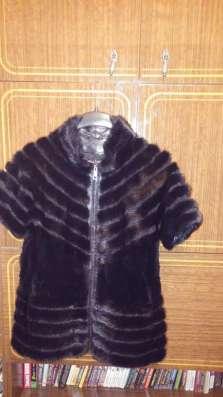 Срочно продается норковый женский жилет. в хорошем состоянии