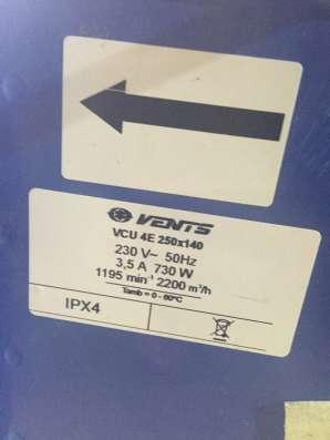 Продам Вентилятор Вентс ВЦУ 4Е 250х140 в г. Киев Фото 2