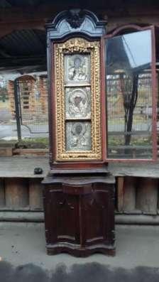 Старинный иконостас-Триптих-,оклады-серебро 84*,XIXв в Москве Фото 5