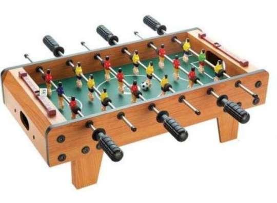 Футбол настольный 6 рычагов деревянный