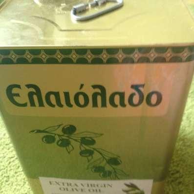 Оливковое масло первого холодного отжима Каламата Греция