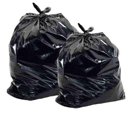 Продам большие мешки, пакеты черного цвета из полиэтилена