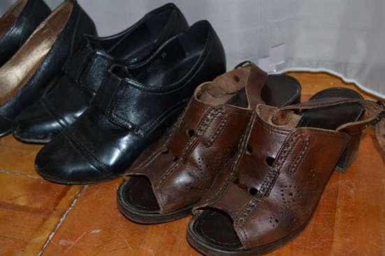 Туфли женские темные