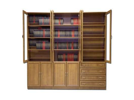 Супервместительный книжный шкаф