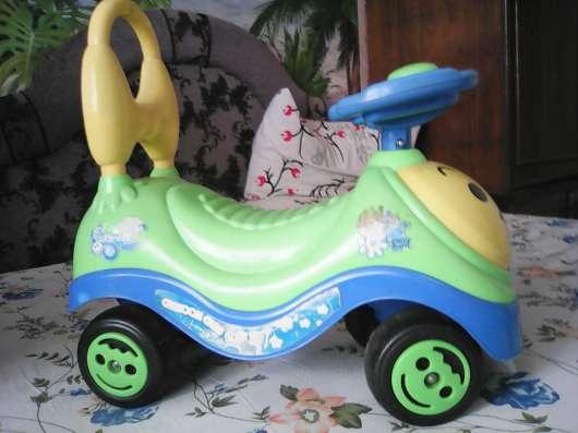 Детский мопед, мотоцикл, кастрюля