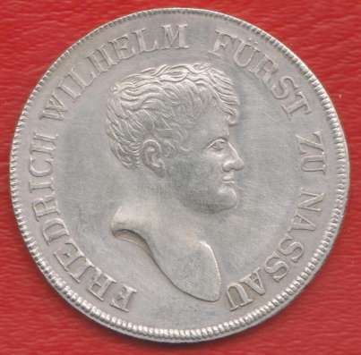 Германия Герцогство Нассау талер 1812 г. №1 в Орле Фото 2
