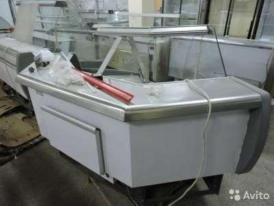 торговое оборудование Угловая холодильная витри