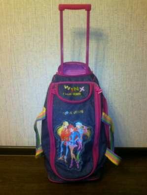 Дорожная сумка для девочки