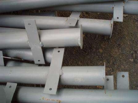 Металлические столбы в Саратове Фото 1