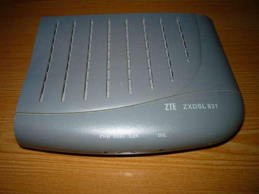 Модем AusLinx AL-2006 adsl + Модем ZTE zxdsl 831 в Москве Фото 2