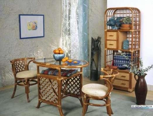 Мебель плетеная из натурального ротанга комплект 03.03 в Краснодаре Фото 2