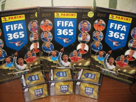 Коллекция наклеек Panini FIFA 365 (альбом+блок)