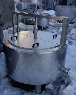 Ванна сырная, объем 300 литров, с пароводяным нагревом, терм в Москве Фото 1