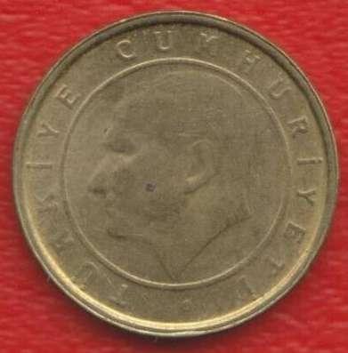 Турция 1 новый куруш 2005 г.