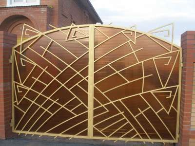 Ворота под индивидуальный заказ в г. Самара Фото 2