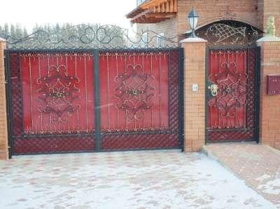 Ворота любой сложности ,заборы,решетки