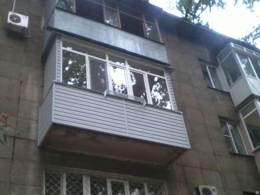 Балконы, металлопластиковые окна, двери, витражи