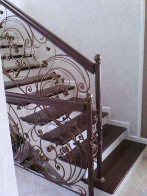 Изготовление лестниц из массива, дуб, ясень, лиственница в Владимире Фото 2