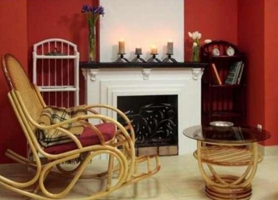 Мебель плетеная из натурального ротанга кресло качалка 05.17 в Краснодаре Фото 1