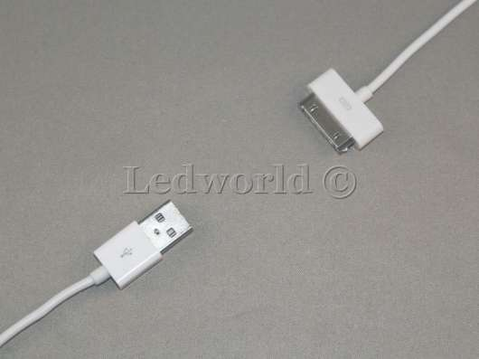 USB кабель 30 pin для iPhone, iPad, iPod