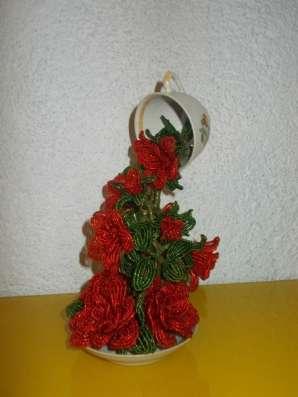 Красный нектар из бисера