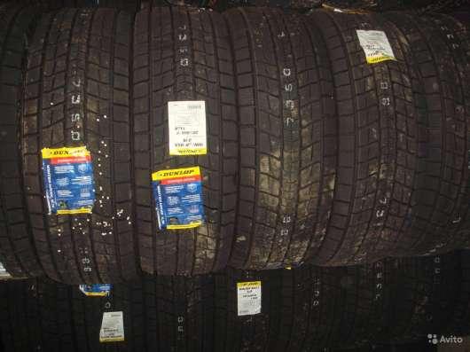 Новые липучки Dunlop 265/60/18 Winter Maxx SJ8