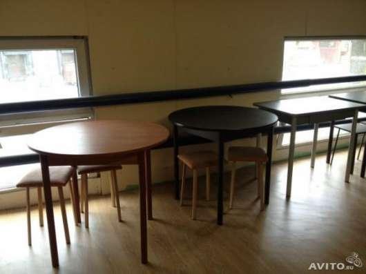 Круглые столы в разных цветах в Москве Фото 1