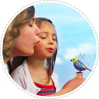 Интерактивная птичка DIGIBIRDS