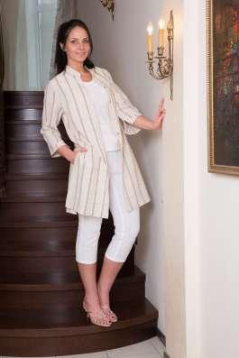 Туника женская 100% лен вышивка марки LOOK