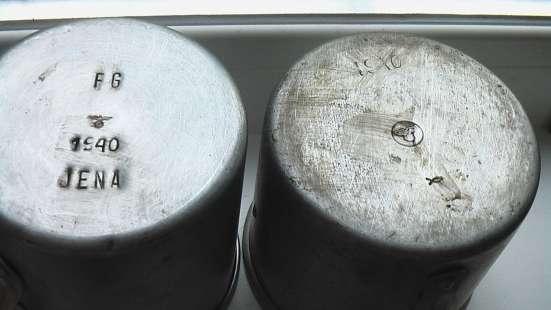 Кружки и тарелки алюминиевые немецкие