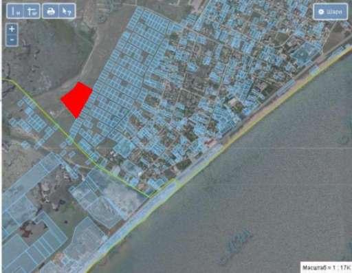 Большой приватизированный участок возле моря