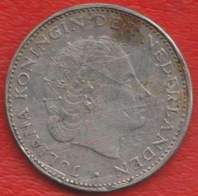 Нидерланды Голландия 2,5 гульдена 1972 г в Орле Фото 1