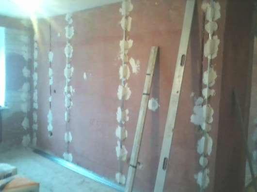 Выравнивание стен.Штукатурка.Шпаклевка.Покраска.Поклейка обо