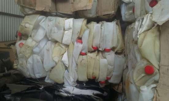 Продаём канистры ПНД прессованные для переработки