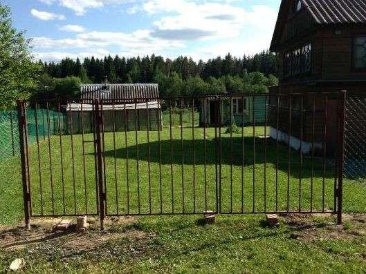 Садовые металлические ворота и калитки в Курске Фото 2