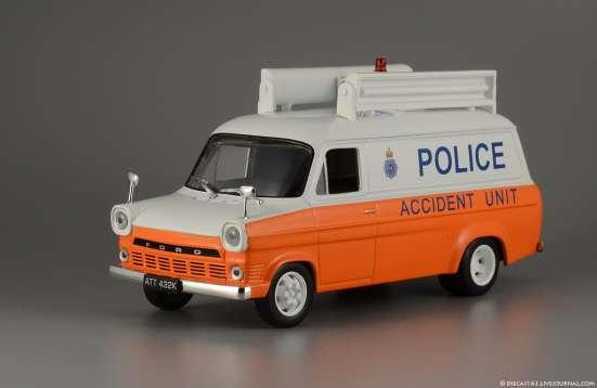 Полицейские машины мира №26 FORD TRANSIT MK1