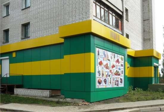 Композитные фасады, входные группы, вывески